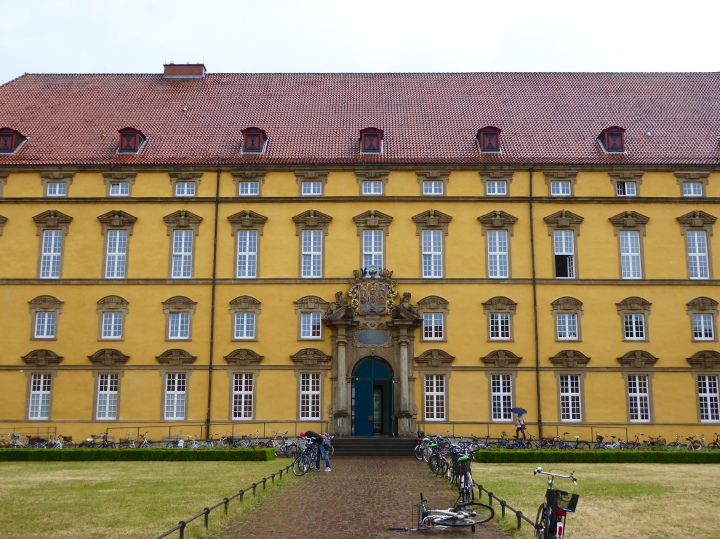 Osnabrück's old schloss, now part of the university