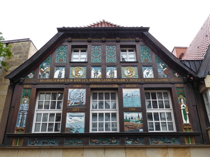New for old: 17th century style house in central Osnabrück
