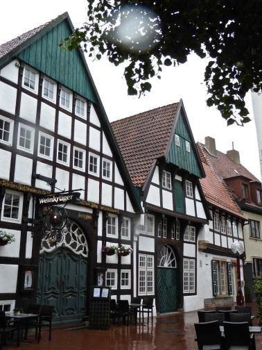 Osnabrück: old timbered houses