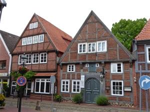 Buxtehude: old houses