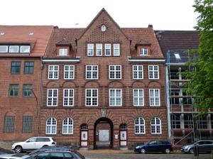 Flensburg: turn-of-the century customs house