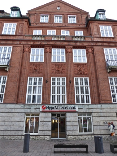 Flensburg: the imposing red-brick HypoVereinsbank