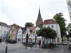 Flensburg: the Nordermarkt