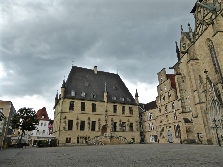 Osnabrück's townhall: where Europe started