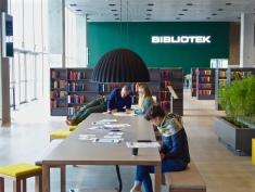 Aarhus: inside the new Dokk1 library
