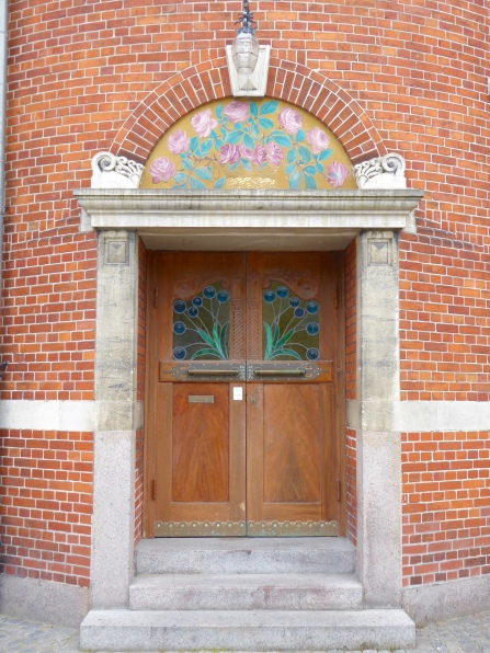 Aarhus' Beaux Arts theatre, side entrance