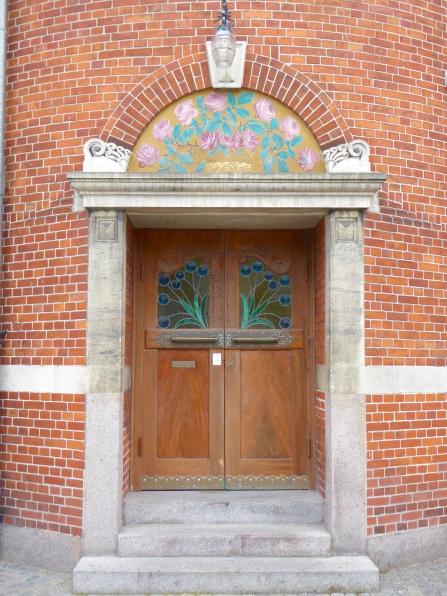 Aarhus' Beaux Arts theatre, side entrance