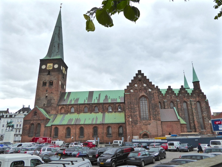 Aarhus' austere red-brick cathedral