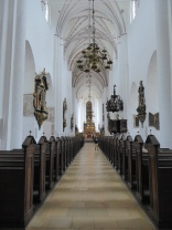 Aarhus cathedral: the 93m nave