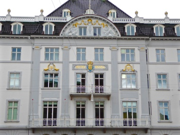 Aarhus: the Grand Hotel on cathedral square