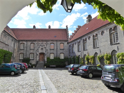 Aalborg: the c.15th hospital of the Holy Ghost, now an old people's home