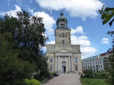 Göteborg's modest cathedral