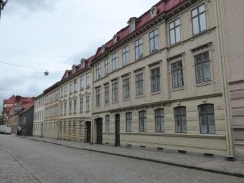 Göteborg: old wooden houses in Haga