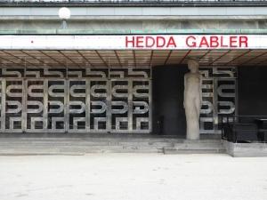 Göteborg: entrance to the 1934 city theatre