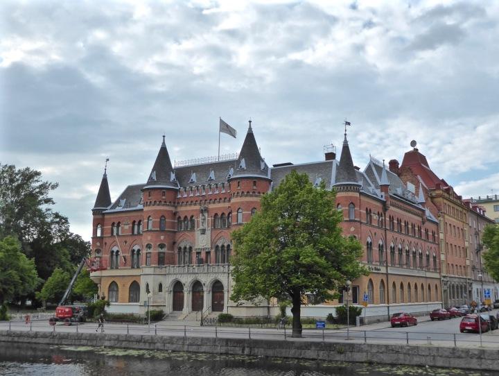 Örebro: neo-gothic building