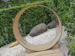 The Seeds Garden: oversized acorn sculpture