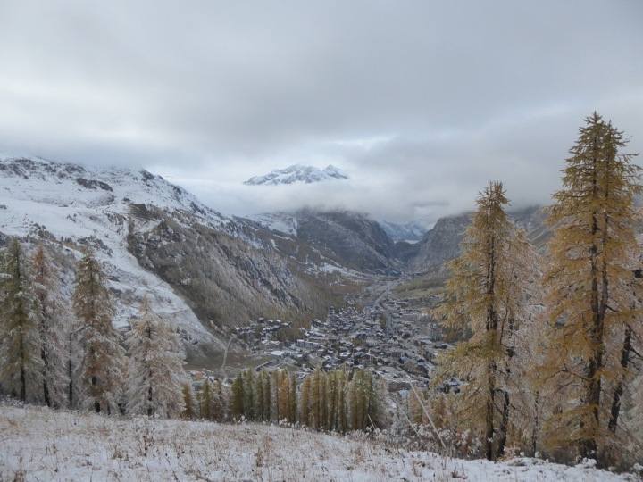 Down the Rhone-Alpes: Val d'Isere in sight