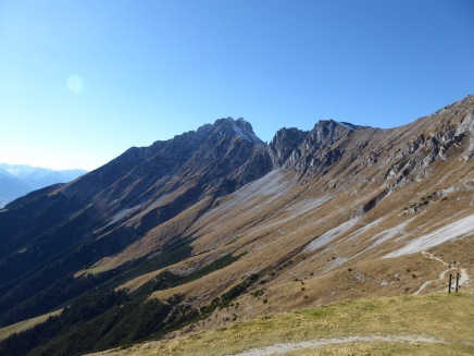 The Nordkette area above Innsbruck