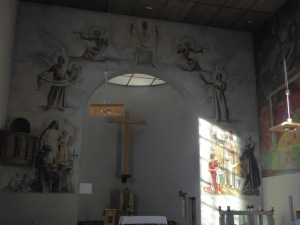 Inside the Theresien Kirche