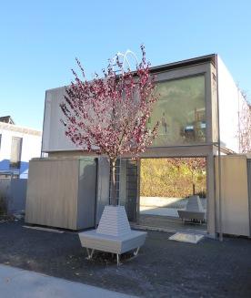 Modern house in Hungerburg
